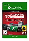 Madden NFL 19: MUT 12000 Madden Points Pack   Xbox One - Download Code