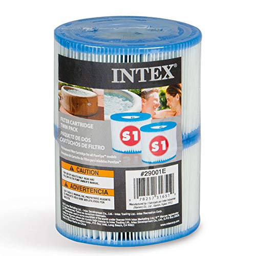 Intex Typ S1Filter Kartusche für PureSpa, Twin Pack