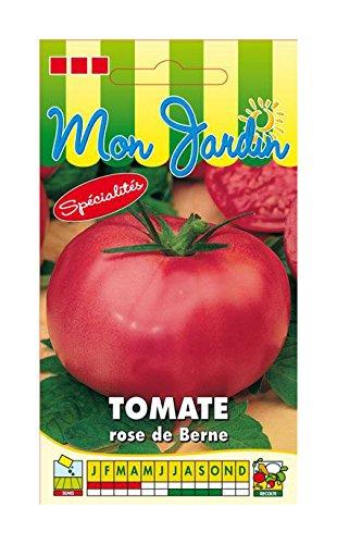 Les Graines Bocquet - Graines De Tomate Berner Rose - Graines Potagères À Semer - Sachet De 0.2Grammes