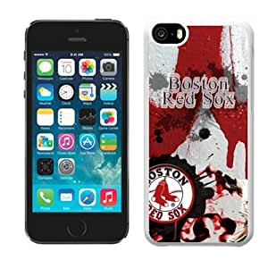 2014 New Style MLB Boston Red Sox iphone 5C Case Cover For MLB Fans