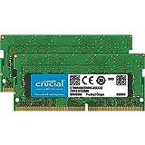 Crucial CT2K8G4SFS832A 16GB (8GB x2) Speicher Kit (DDR4, 3200 MT/s, PC4-25600, CL22, Single Rank x8, SODIMM, 260-Pin)