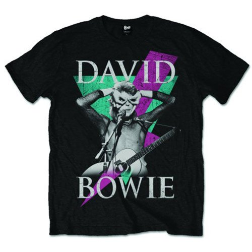David Bowie Men's Thunder T-Shirt for Men, S to XXL