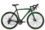 KS Cycling Unisex– Erwachsene Rennrad Xceed Schwarz