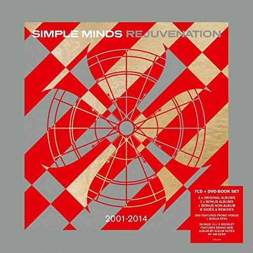 Simple Minds / Rejunvenation 2001-2014 box issued on CD