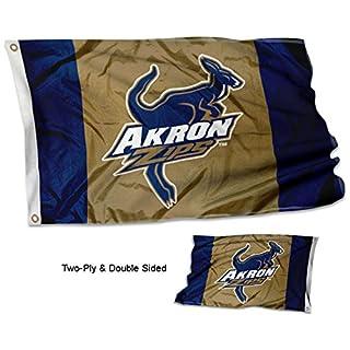 Akron Zips NCAA Double-Sided Flag