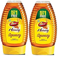 Dabur Pure Honey Squeezy, 225 g, Pack of 2