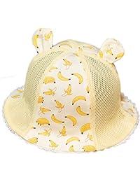 iTemer 1 Pieza Lindo Sombrero de Malla de bebé Sombrero patrón de Fruta  Sombrero de los niños Sombrero Casual… 4450938a303