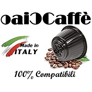 CiaoCaffè 100 Capsule Caffè Compatibili Nescafè Dolce Gusto