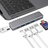dodocool USB-C Hub, 7-in-1 Dual USB Type C Hubs Adapter for 13.3/15.4 inch