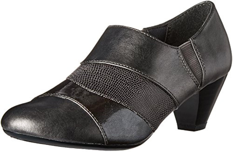 Stivali da donna donna donna Geva, Peltro scuro Vitello   Brevetto   lucertola perlata - 5.5 B (M) US | In Breve Fornitura  | Uomo/Donna Scarpa  6952a8