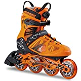 K2 Herren Inline Skates VO2 90 Boa M - Orange-Schwarz - EU: 39.5 (US: 7 - UK: 6) - 30B0018.1.1.070