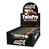 AMIX TwinPro Protein Bar - 20 Barritas x 80 gr Raspberry-Cream