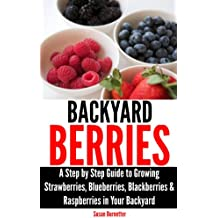 Backyard Berries - A Step by Step Guide to Growing Strawberries, Blueberries, Blackberries & Raspberries in Your Backyard (English Edition)