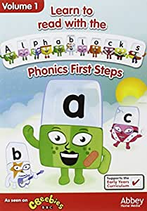 Learn To Read With Alphablocks - Phonics First Steps Volume 1 [DVD]