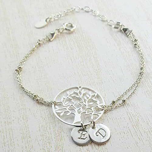 bracelet 2 initiales