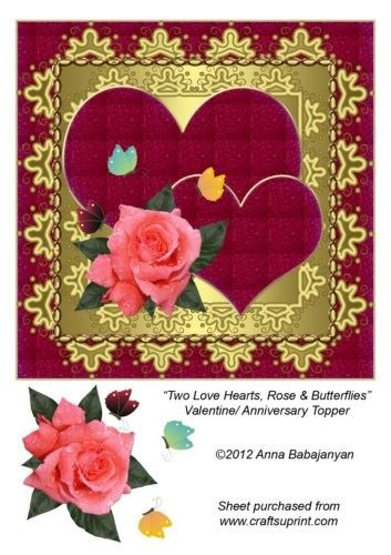 two-love-hearts-rose-butterflies-valentine-anniversary-by-anna-babajanyan