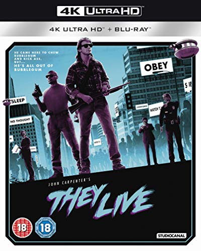 They Live (4K Ultra HD + Blu-ray) [2019]