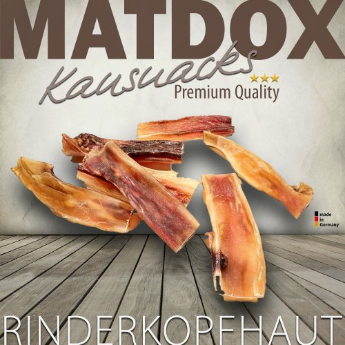 Rinderkopfhaut 1000g Beutel - made in Germany -