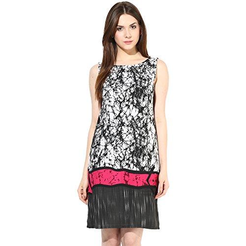 Shakumbhari Women's Cotton Wrap Dress (SW-659-S_Black)  available at amazon for Rs.298