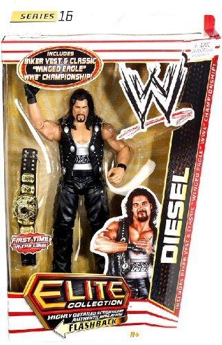 WWE Collector Elite Diesel steht–Series 16by Mattel (Wwe-diesel-spielzeug)