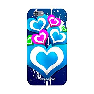 HomeSoGood Milky Valentine's Love Multicolor For iPhone 6 (Back Cover)