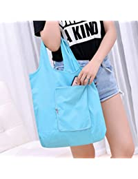 Hot Sale Reusable Eco-Friendly Supermarket Shopping Bag Foldable Shopping Bag Travel Handbags Foldable Grocery...