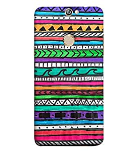 Fuson Designer Back Case Cover for Coolpad Max A8 ( Ethnic Pattern Patterns Floral Decorative Abstact Love Lovely Beauty )