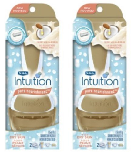 schick-intuition-pure-nourishment-with-coconut-milk-and-almond-oil-razor-pack-of-2-by-shick