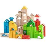 QXMEI Giocattoli Per Bambini Blocchi Per Bambini Educazione Precoce Per Bambini Puzzle Building Blocks Dimensioni: 9.1pollices * 9.1pollices