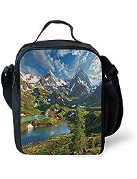 0134d484e1 ZKHTO School Supplies Landscape,Mountain Lake Russia Siberia Altai  Mountains Katun Ridge Snowy Peaks,