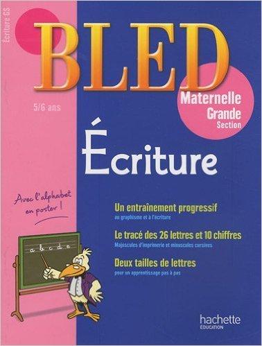 Ecriture Grande section maternelle : 5-6 ans de Michel Ruchmann ( 13 janvier 2010 )