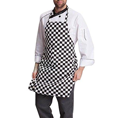 Tocoss (TM) ¨¤ chaud des femmes des hommes Caf¨¦ Commercial Restaurant Chef Tabliers de cuisine pratique