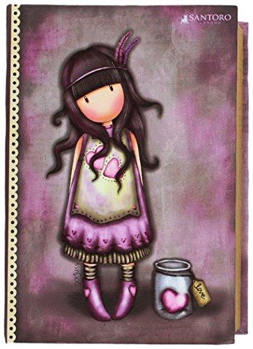Gorjuss JW-05-G Joyero Libro Pequeño Jar of Hearts