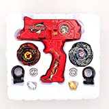 Best Beyblade Kits - Imported 4D Launcher Grip Beyblade Set - Red-57000265MG Review