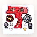 4d Lanzador Agarre Beyblade Fijado - Rojo