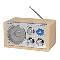 Denver TR-64 AM/FM Radio - Lightwood