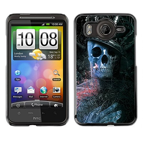 All Phone Most Case / Carino Immagine Rigida Custodia Duro protettiva Caso Cellulare Cassa / Hard Case for HTC G10 // King Skeleton