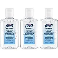 PURELL Advanced Hygienisches Händedesinfektionsmittel (3 x 100ml Fliptopflasche) preisvergleich bei billige-tabletten.eu