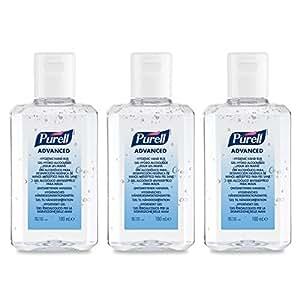 Purell Advanced Hygienisches Handedesinfektionsmittel 3 X 100ml