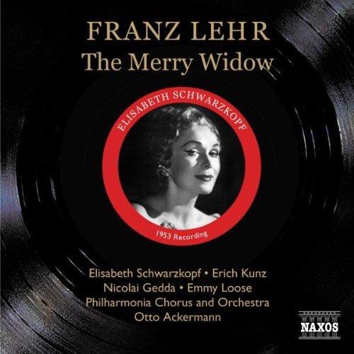 Lehar : Die Lustige Witwe (la Veuve Joyeuse). Opérette, Enregistrement Intégrale