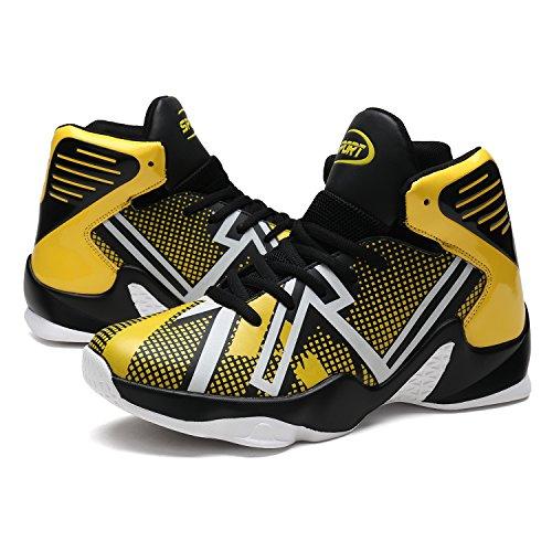 2017 Basketball Chaussures Hommes Sports De Plein Air Sneakers Orange