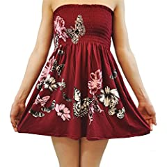 ad96502637 CHOCOLATE PICKLE New Ladies Plus Size Wine Leaves Butterfly S ..