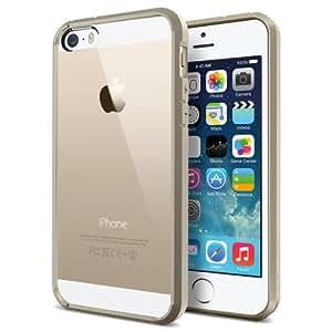Spigen SGP10711 Ultra Hybrid Case für Apple iPhone 5S/5 champagne gold
