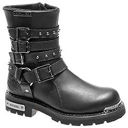 harley davidson womens eddington leather boots - 51P3 2BUt 2B37L - Harley Davidson Womens Eddington Leather Boots
