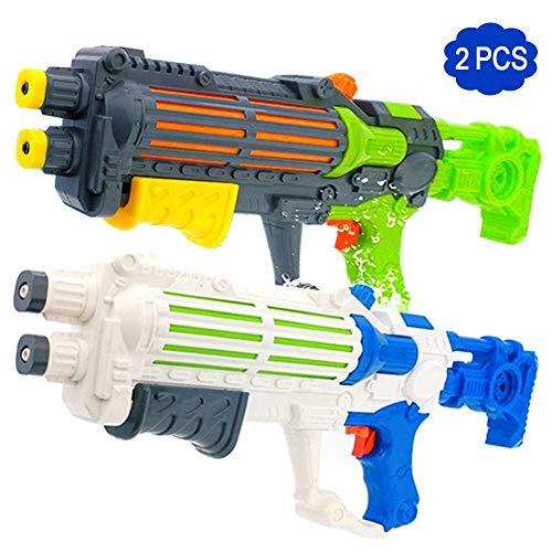 Rclhh Wasserpistolen/2 Paket Spielzeug Wasserpistole Pistolen Hohe Kapazität Wasser Soaker Blaster Squirt Gun Schwimmbad Strand Sand Wasser Kampf Spielzeug