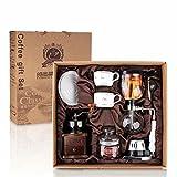 WEI Siphon Kaffeemaschine Set Haushalt Glas Manuelle Kaffeemaschine Grinders Siphon