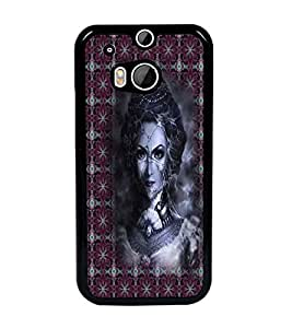 PrintDhaba Vamp D-3009 Back Case Cover for HTC ONE M8s (Multi-Coloured)