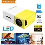 Portable Multimedia HD Mini Led Wireless Projector Video Home Cinema Projector PC VGA/USB/AV/HDMI 1080P 800x480 Resolution