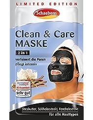Schaebens Clean & Care Maske Limited Edition, 15er Pack (15 x 13 ml)