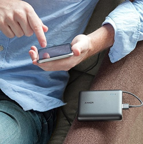 Best anker power bank in India 2020 Anker PowerCore 10400 mAh with Power IQ (Black) Image 5